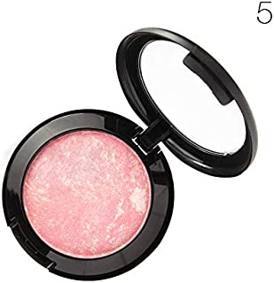 Makeup Blusher Long Lasting Shimmer Pigment Minerals Face Contour Baked Bronzer Palette Blush Accessories For Women Lady