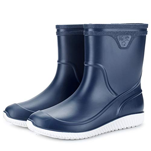 TGAICHO Zapatos Impermeables para Hombres, Fáciles De Limpiar,Forro De Tela Suave, Plantilla...