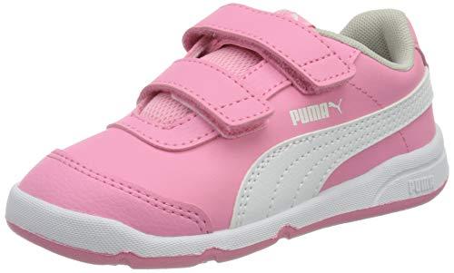 Puma Unisex Baby STEPFLEEX 2 SL VE V INF Sneaker, Sachet Pink White-Gray Violet, 26 EU