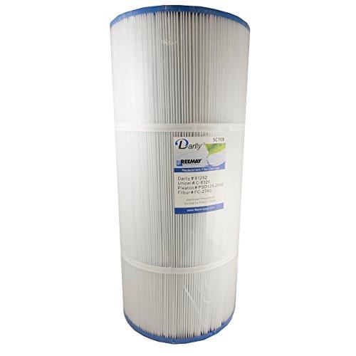 Darlly® Filter Ersatzfilter SC708 Lamellenfilter für Sundance Spas Whirlpool