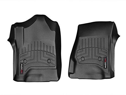 Black 443281 WeatherTech Custom Fit Front FloorLiner for Dodge Ram 1500 Crew Cab