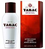 Tabac® Original | After Shave Lotion erfrischende Rasierwasser - erfrischt die von der Rasur beanspruchte Männerhaut - Original Seit 1960 | 200ml Splash