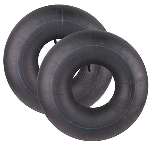 LotFancy 2 Pack 20x8.00-8, 20x8-8, 20x10.00-8, 20x10-8 Inner Tube for Lawn Mower, Lawn Tractor, Snow Blower, Golf Cart, Garden Trailer, with TR13 Straight Valve Stem