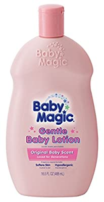 Baby Magic Baby Lotion Gentle 16.5 Ounce Baby Scent (488ml) (3 Pack) by Naterra International, Inc.