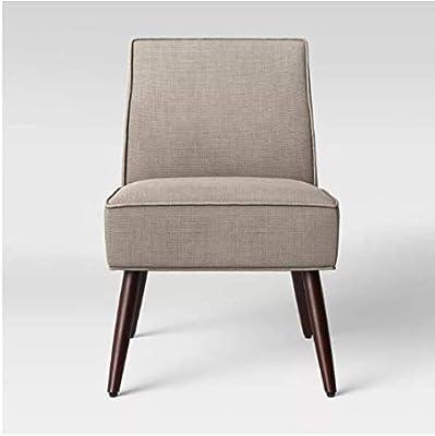 Amazon Com Kendal Light Blue Fabric Accent Chair Set Of