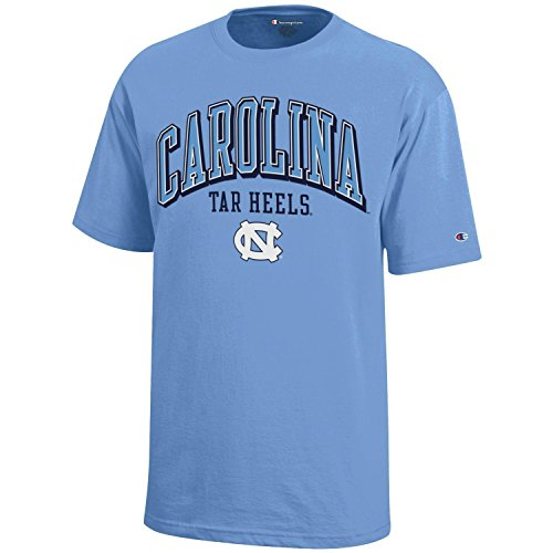 NCAA Champion Boy's Short Sleeve Jersey T-Shirt North Carolina Tar Heels Large