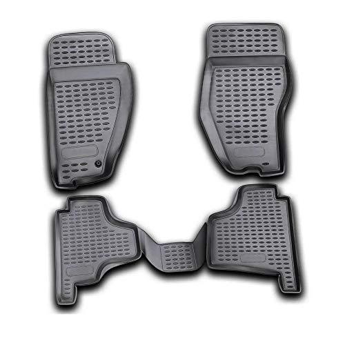 Per Nitro 2007 - 2012 Tappetini in gomma Polymer alta 3d gomma tappetini per auto