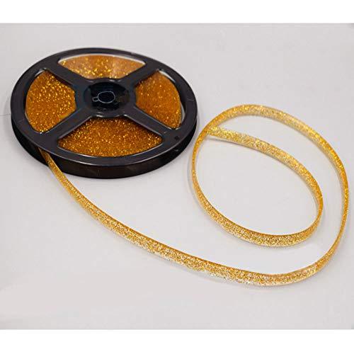 Cinta adhesiva de sellado de azulejos de cerámica a prueba de moho, cinta adhesiva decorativa de aluminio, dorado
