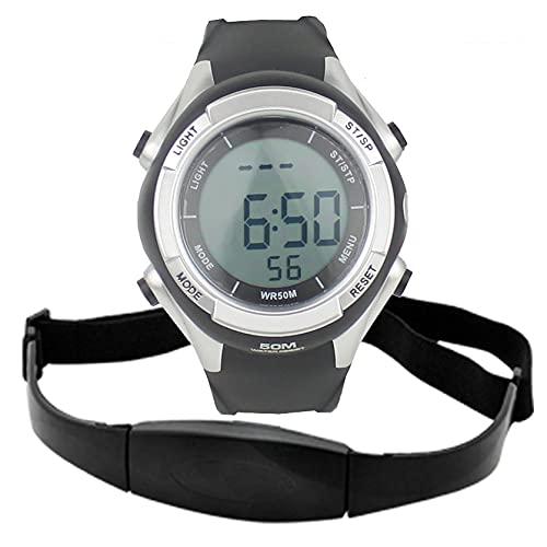 GUILIAN Mirar Fitness Pulse Calories Monitor de frecuencia cardíaca inalámbrico Reloj Polar Digital Hombres Mujeres Deportes Relojes de Pulsera Correr Ciclismo Correa de Pecho