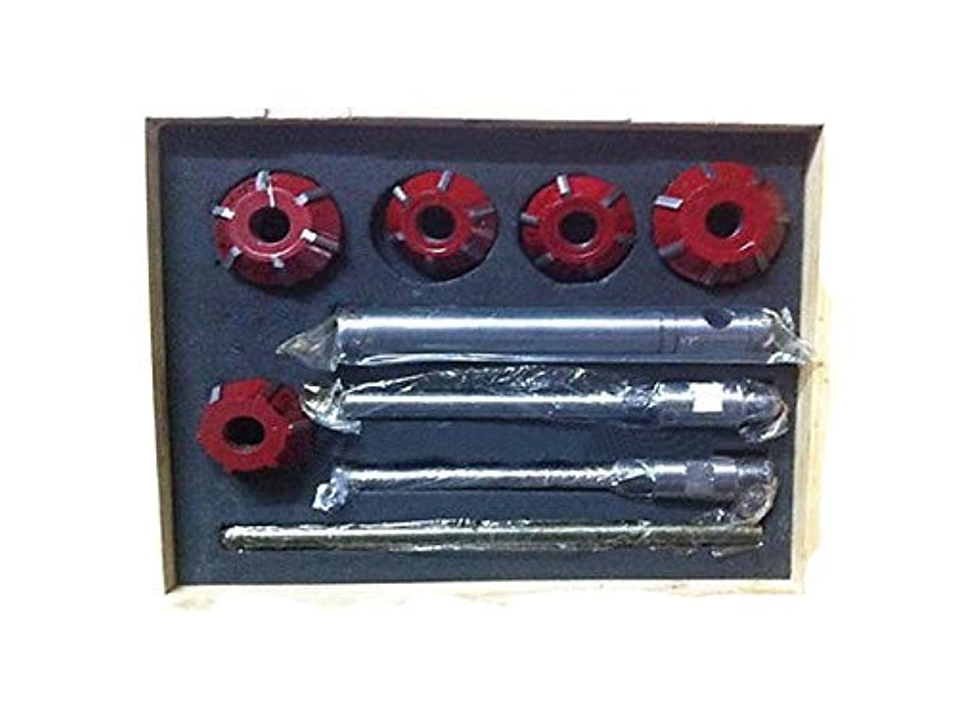 Carbide Valve Seat Cutter 5 Cutter Set for Vintage Car & Bikes 20 & 45 Degree