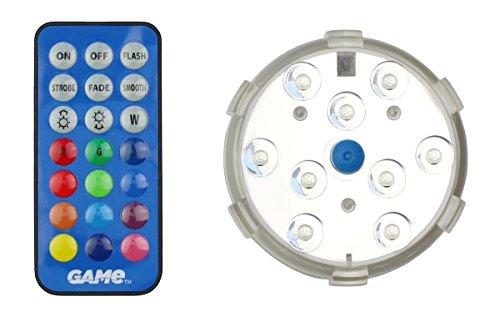 Summer Fun Unterwasser Pool Licht mit Magnet und Fernbedienung