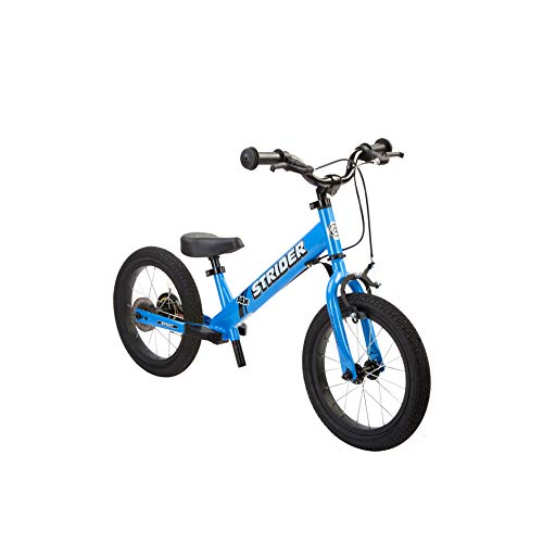 Strider - 14x Sport Balance Bike, Ages 3 to 7 Years, Awesome Blue -...