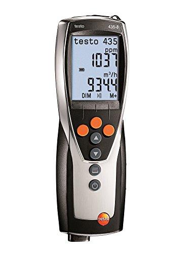 Testo Multifunktions - Messgeraet Luftfeuchte - Temperatur - Messgerät, Thermo - Hygrometer, 435-3