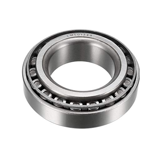 uxcell LM501349/LM501310 Tapered Roller Bearing Cone and Cup Set 1.625