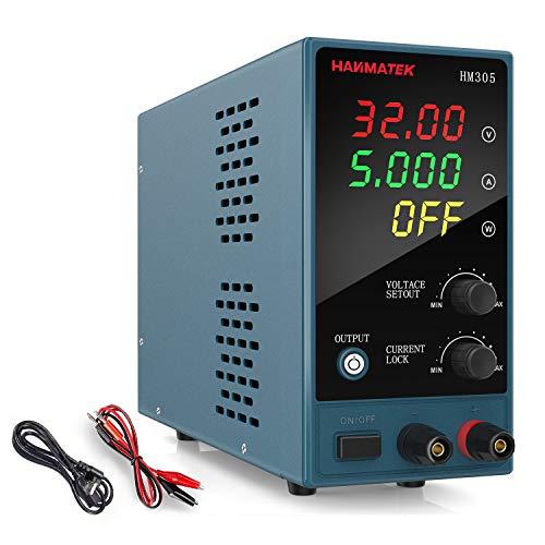 Adjustable DC Power Supply (0-30...