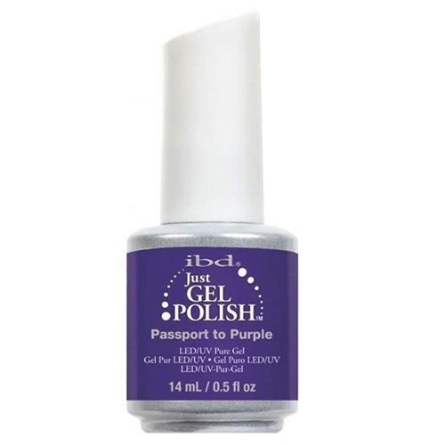 IBD Just Gel 14 ml – Passeport à Violet – Île de Eden été 2016 – New Genuine