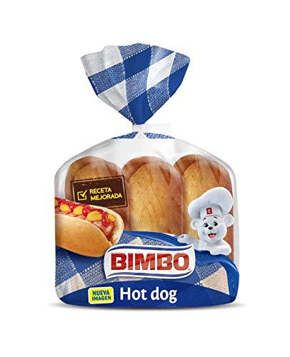 Bimbo - Panecillo para Hotdogs, 330 gr , 6 unidades