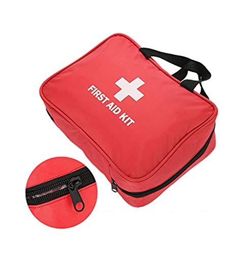 Draagbare First Aid Kit Lege Doos met Multi-Pockets, Overleving Medische Tas Behandeling Case Medicine Opbergtas voor Emergency voor Thuis Outdoor