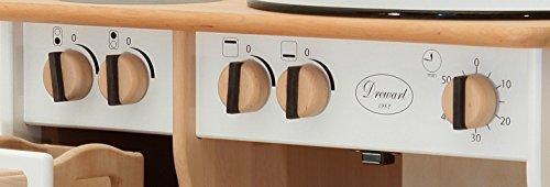 Erst-Holz 932-2044 DL Drewart Kinderküche mit Zubehör Spielküche Massivholz weiß - 3