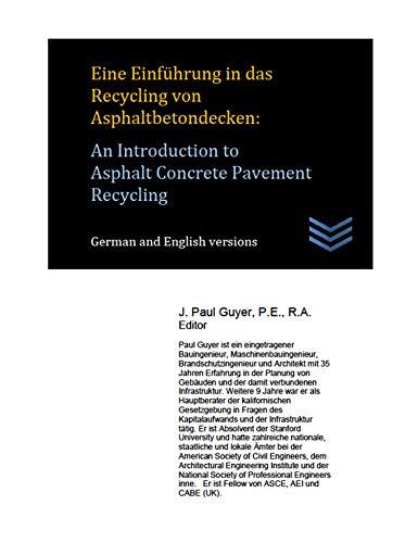 Eine Einführung in Heißmischasphalt für Gehwege: An Introduction to Hot Mix Asphalt for Pavement