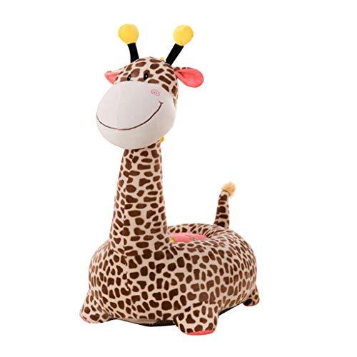 Homyl Couverture De Tabouret en Forme De Peluche Animal Douce - Girafe (Brun)