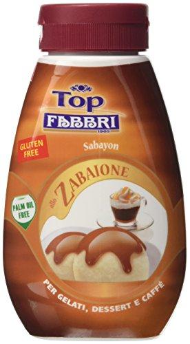 Fabbri Minitopping Zabaione 220g - [confezione da 4]