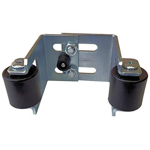 SO-TOOLS® Auflaufschuh 40-90 mm mit Rollenführung Torstopper Toranschlag Einlaufschuh