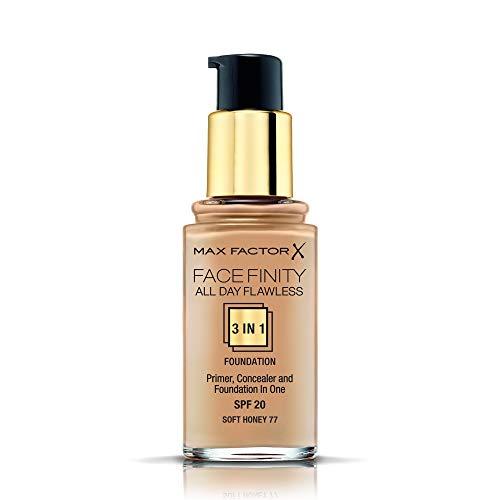 Max Factor, Base de maquillaje (Tono 077 Honey), 30 ml