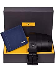 Urban Forest Brian Leather Wallet & Belt Combo Gift Set for Men