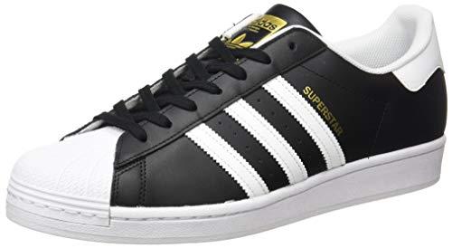 adidas Superstar, Zapatillas Hombre, Core Black Cloud White Gold Metallic, 43 1/3 EU