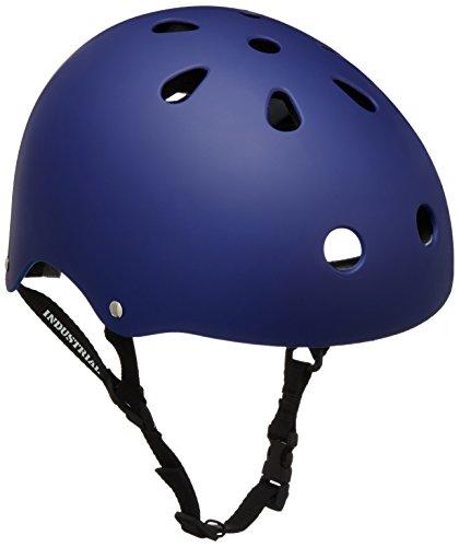 INDUSTRIAL(インダストリアル) HELMET Flat Blue XS BW00586 BLUE XS:約53cm スケートボード用ヘルメット