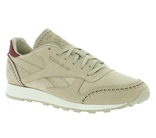 Zapatillas para Hombre Reebok Classic Leather Limited Color Beige Talla 45