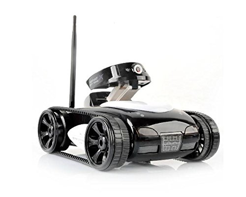 Remote Control Tank with Camera WiFi Controll Wireless Tank with Real-time Rover Tank for Mobile Phone rc Spy Tank
