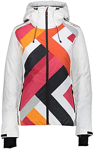 CMP dames WOMAN JACKET FIX HOOD jas, Bianco, 36