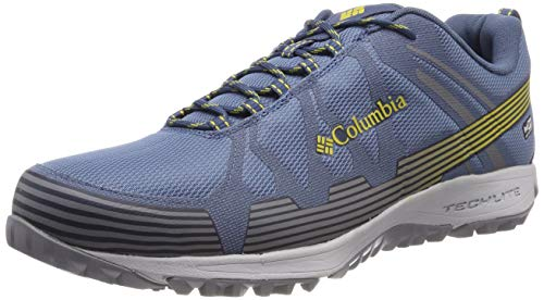 Columbia Homme Chaussures Multisport, Imperméable, CONSPIRACY V OUTDRY, Taille 45, Bleu (Steel, Antique Moss)