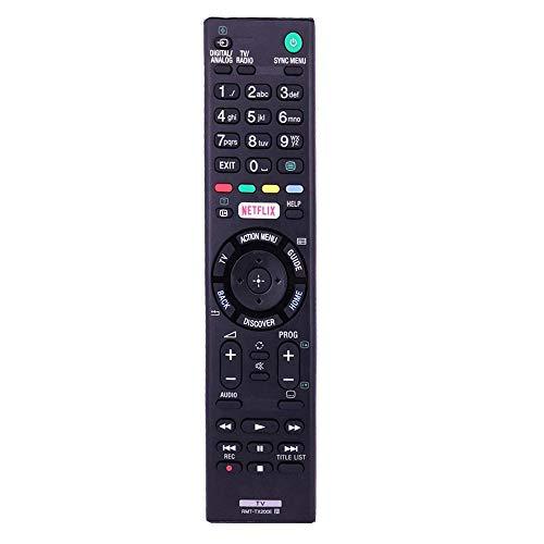 Repuesto RMT-TX200E Mando para Sony bravia TV KD-49XD7004 KD-49XD7005 KD-55XD7004 KD-55XD7005 KD-65XD7004 KD-65XD7005 KD-50SD8005 KD-43X8000D KD-49X7000D KD-55X7000D