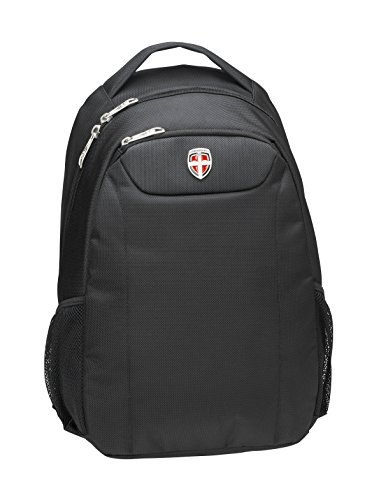 Ellehammer Mochila Copenhagen Business, 35,5 cm, Color Negro