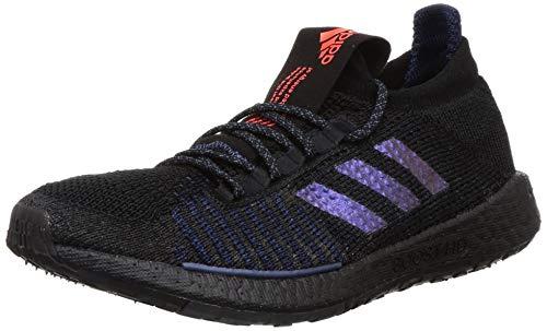 Adidas PULSEBOOST HD W, Zapatillas Running Mujer, Gris (Core Black/Boost Blue Violet Met./Dash Grey), 42 EU