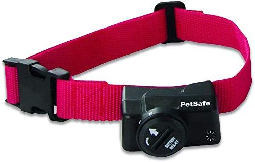 PetSafe - Collier Anti-Fugue pour Chien Supplémentaire pour Clôture Anti-Fugue Sans Fil, Imperméable, Indicateur de batterie faible, 1 pile incluse, 120 gr