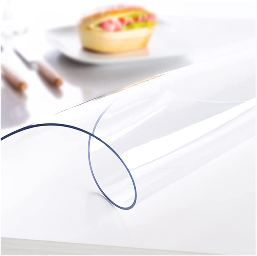 YJFENG 2mm Transparent Tablecover Protector PVC Super beauty product restock quality top Waterproof All items in the store Tabl