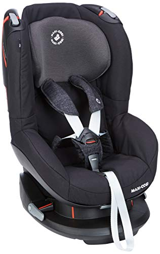 Maxi-Cosi Tobi Kinderautositz Gruppe 1, nach vorne gerichteter Liegesitz, 9 Monate - 4 Jahre, 9-18 kg, Nomad schwarz