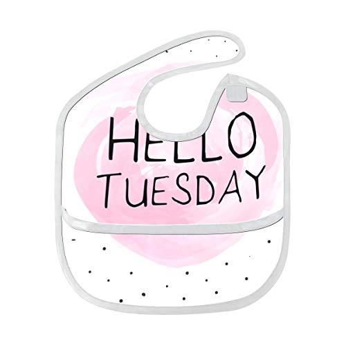 Happy Giving Tuesday Week Custom Suave resistente al agua lavable resistente a los olores alimentación para bebés babeo baberos paños de eructo para bebés en general para niños de 6-24 meses Regalos