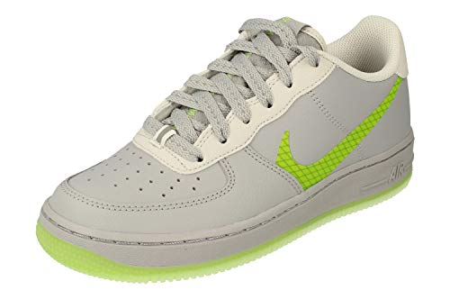 Nike Air Force 1 LV8 3 SP20 (GS), Zapatillas de bsquetbol, Wolf Grey Ghost Green Photon Dust Black, 40 EU