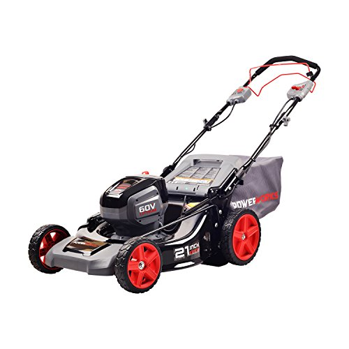 POWERWORKS 60V 21-inch SPMower, Battery Not Included MO60L02PW