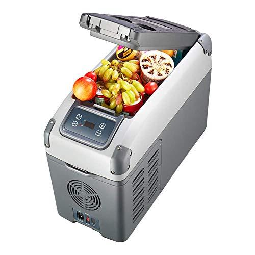 WANNA.U Compresor de refrigeración para el coche, 12 L/16 L, portátil, minicongelador, mando a distancia dentro de 10 metros