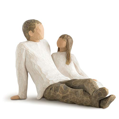 Willow Tree Father and Daughter, Sculpted Hand-Painted Figure