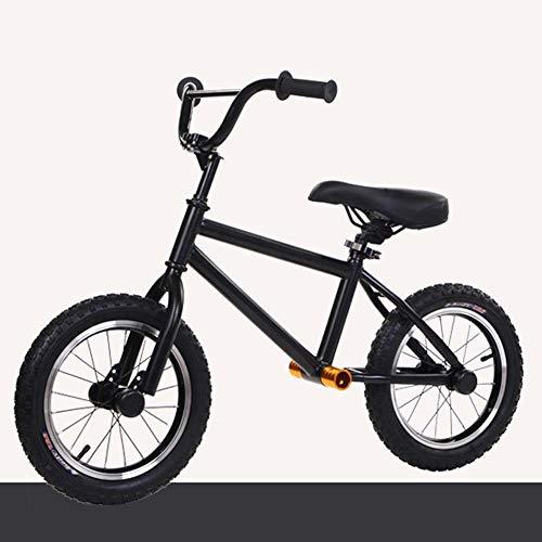 Wxnnx Bicicleta de Equilibrio Grande para niños Grandes de 5, 6, 7, 8 y 9 años, Bicicletas sin Pedales con neumáticos de Aire de 16 Pulgadas, Manillar y Asiento Ajustables