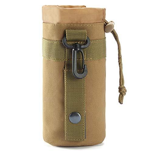 Basage Tapa Protectora de la Botella de Agua Tapa de Copa de Camuflaje Cubierta de Copa Multifuncional PortáTil de Alpinismo de Viaje Al Aire Libre