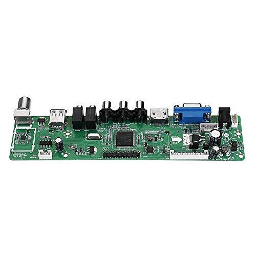 BINGFANG-W RR8503.03D Controlador Universal TV LCD Tablero de Conductor de TV Placa Base del Punto Steuermodul Tablero del Amplificador