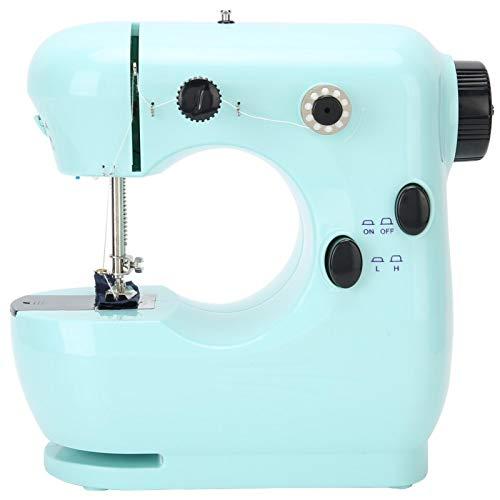 Máquina de coser, máquina de coser de mesa de bricolaje conveniente para reparar, hogar para tejer coser(European regulations)